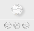 Factory Pack Swarovski Round Beads, Style 5000, 8MM